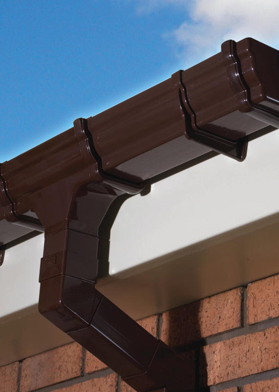 Gutters, Guttering, Downpipes, Drainpipes and Roofline Products Plymouth Devon and Cornwalll
