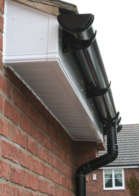 Gutters Guttering Downpipes Drainpipes And Roofline